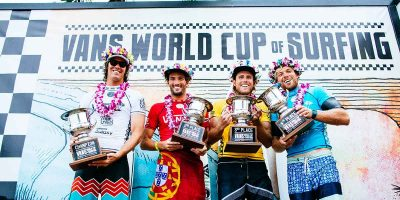Jordy Smith claims first Hawaiian win at Vans World Cup