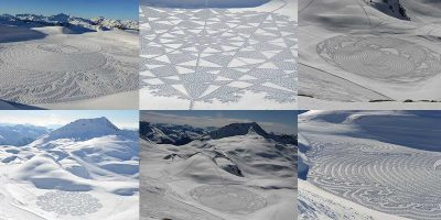 Interview: The artist behind Snow Art – Simon Beck