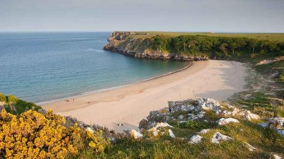 A beach in Wales has been named as one of the best in the world