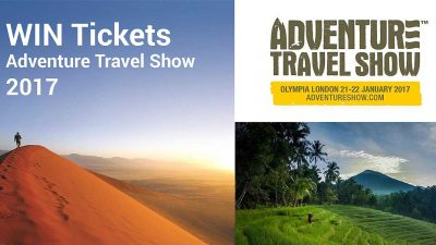 COMPETITION – WIN Tickets to Adventure Travel Show 2017
