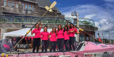 Interview: The first female team to row the world's largest ocean