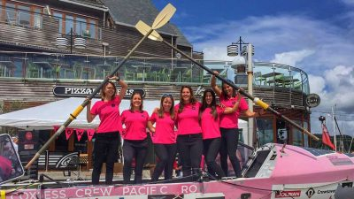 The first female team to row the world's largest ocean [Interview]