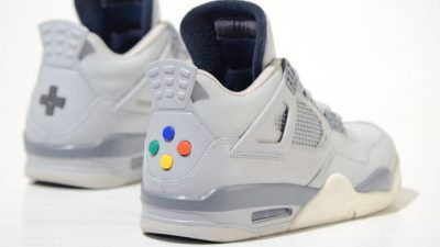 These Nintendo custom made sneakers just broke the designer's website