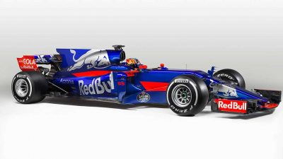 Scuderia Toro Rosso reveal its new 2017 contender in Spain ahead of the F1 season