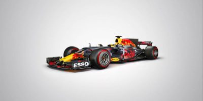 Red Bull unveil its sleek new RB13