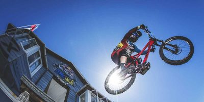 Tomas Slavik secures extreme urban descent win at Red Bull's Valparaíso Cerro Abajo