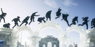 Jason Paul takes on north China's epic winter wonderland in his latest freerunning video