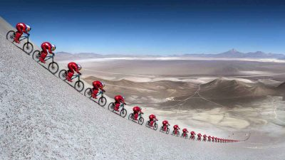 How fast can a 'standard' mountain bike go? Markus 'Max' Stöckl sets 167.6 km/h record!
