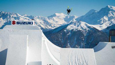 Andri Ragettli lands first ever quad cork 1800 on skis