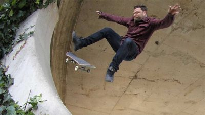 Bam Margera is back – he still shreds on a skateboard