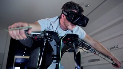 Hypersuit: New virtual reality flight suit is taking games to new heights