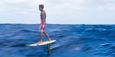Kai Lenny hydrofoils 50 mile stretch from Hawai'i to Maui