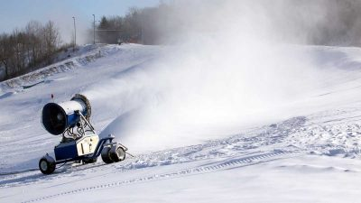 Norwegian scientists find way to make snow machines more environmentally friendly