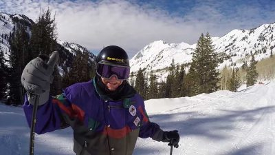 99.5 year old skier proves age is definitely just a number