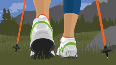 Beginner's guide to Nordic walking with poles