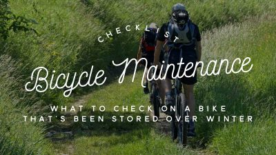 Bicycle maintenance checklist: What to check on a bike that's been stored over winter