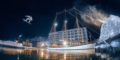 Snowboarder Eero Ettala transforms Helsinki into urban playground