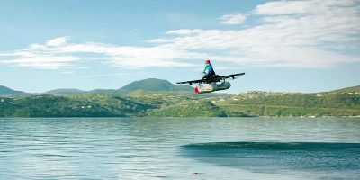 New 'flying car' unveiled by Google co-founder