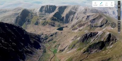 New 3D map allows you to explore UK's dramatic landscape like never before