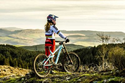 Interview: Downhill mountain biking world champ Rachel Atherton reflects on her 2016 clean sweep ahead of this season