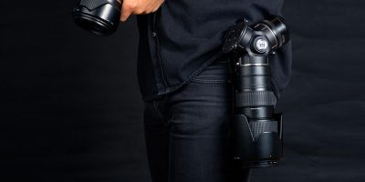 TriLens is a triple lens holder that cuts the frustration of changing lenses