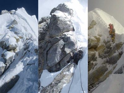 Everest's Hillary Step: Has it gone or not?