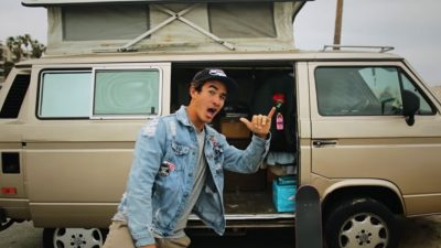 Pro skateboarder lives in a VW Syncro in Los Angeles