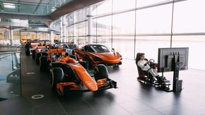 McLaren launch gaming competition to find next Formula 1 simulator driver