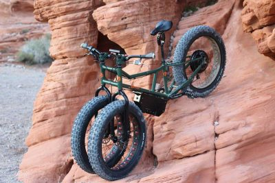This off road electric trike is dividing opinion among mountain bikers