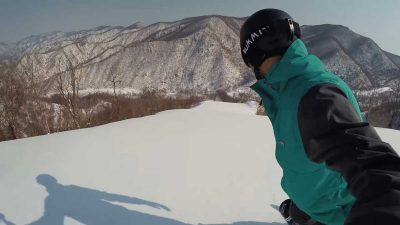 Snowboarding in one of the most secretive countries in the world – North Korea