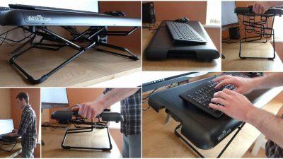 Varidesk Soho review – Convert any desk into a standing desk