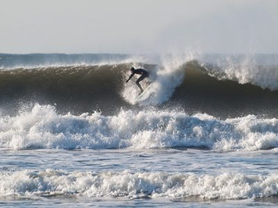 3ft shark attacks surfer off Devon coast