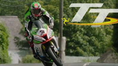 Watch the moment an Isle of Man TT racer pulls off the most unbelievable save to avoid crashing