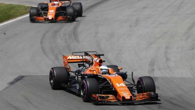 McLaren F1 team cut partnership with Honda for 2018