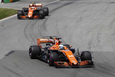 McLaren F1 team cut partnership with Honda for 2018
