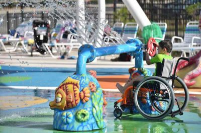 The world's first water park for people with disabilities has just opened