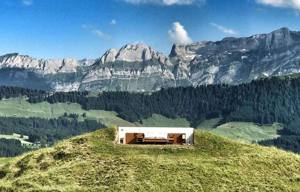 This Wall Less Hotel Offers Panoramic Views Of The Swiss