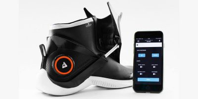 World's first 'intelligent' shoe looks like something from Robocop