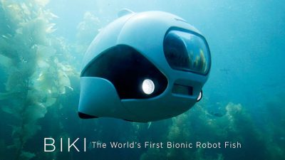 New bionic underwater drone lets you view the world like a fish
