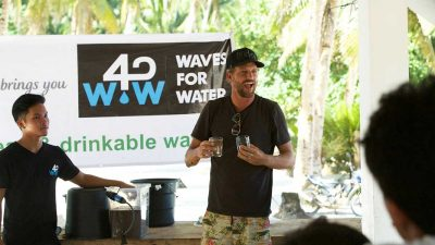 Former pro surfer's quest to quench the world's thirst on World Ocean Day
