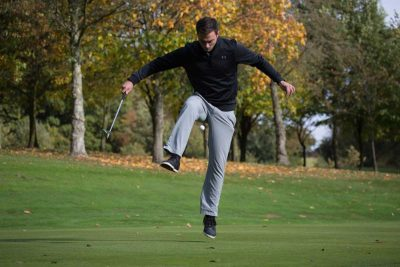 This guy takes golf trick shots to another level [Video]