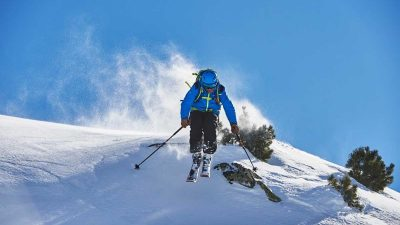 Ever wanted to ski with an Olympian? Graham Bell to host alpine adventure in Italy
