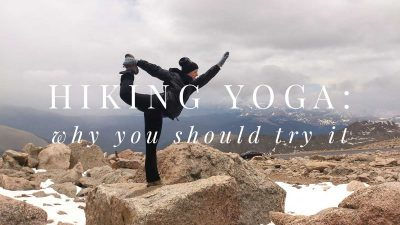 What's hiking yoga and why you should try it