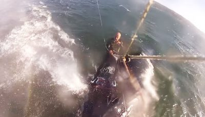 Kitesurfer collides with humpback whale in California