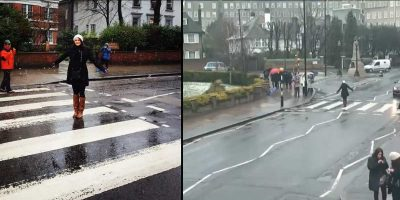 Abbey Road zebra crossing becomes focus for unique photography project about tourists