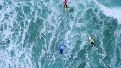 First ever adaptive surfing competition held in England