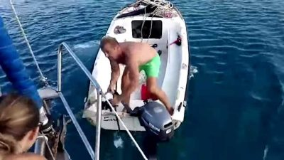 Harbour Warden tries to force payment from family anchored in 'free area' off Croatian coast
