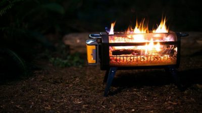 BioLite FirePit: A smokeless portable campfire ideal for family cookouts