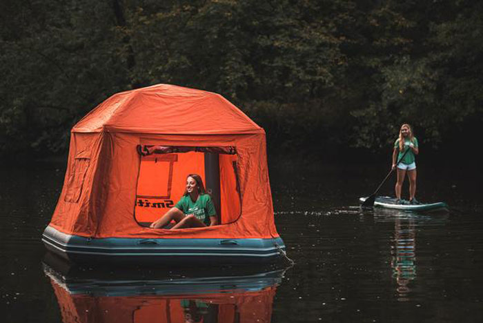 Smithfly S Inflatable Water Tent Promises A Camping
