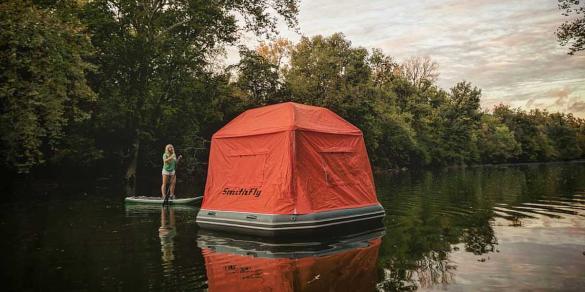 Smithfly S Inflatable Water Tent Promises A Camping Experience Like No Other